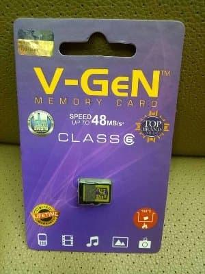 Micro Sd Vgen 32gb Class 6 Non Adaptor