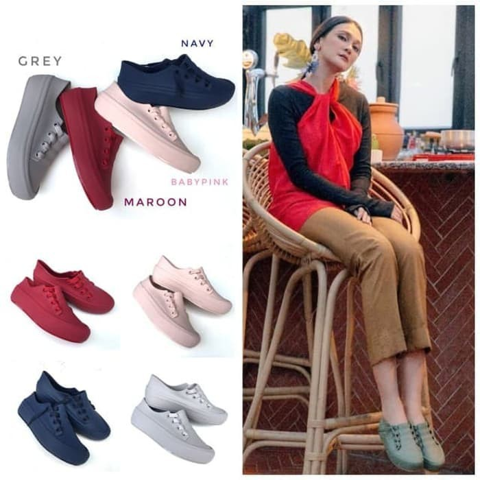 Jual Produk Unggulan Sepatu Wanita Sneakers Jelly Pg6686 1 Keren Kab Bandung Bunda Ria Official Tokopedia