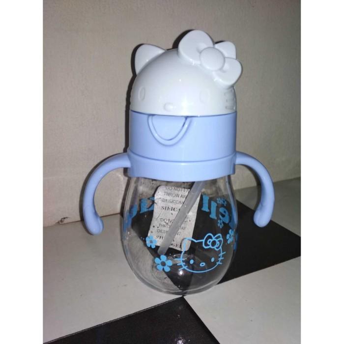 KitchenStuff- Botol Minum Watter Bottle 400ml H-1130 - Biru
