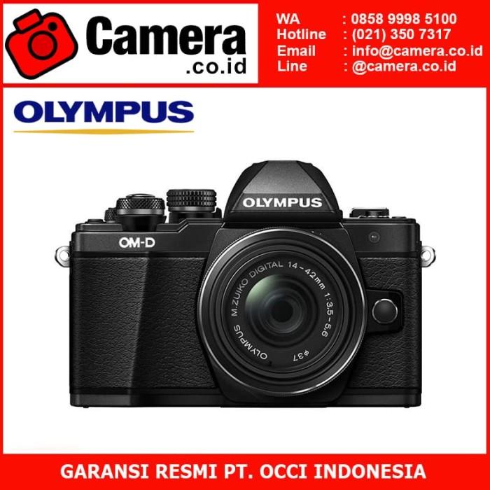 harga Olympus om-d e-m10 mark ii kit 14-42mm ez - black kamera mirrorless Tokopedia.com
