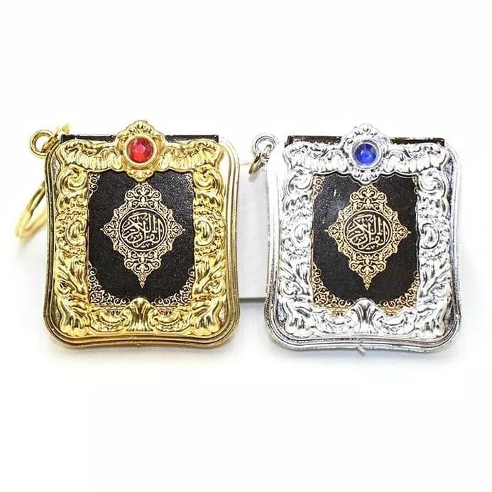 Gantungan Kunci Al Quran Kecil,Indah,Bagus,Bisa Jadi Souvenir,OlehOleh Surabaya