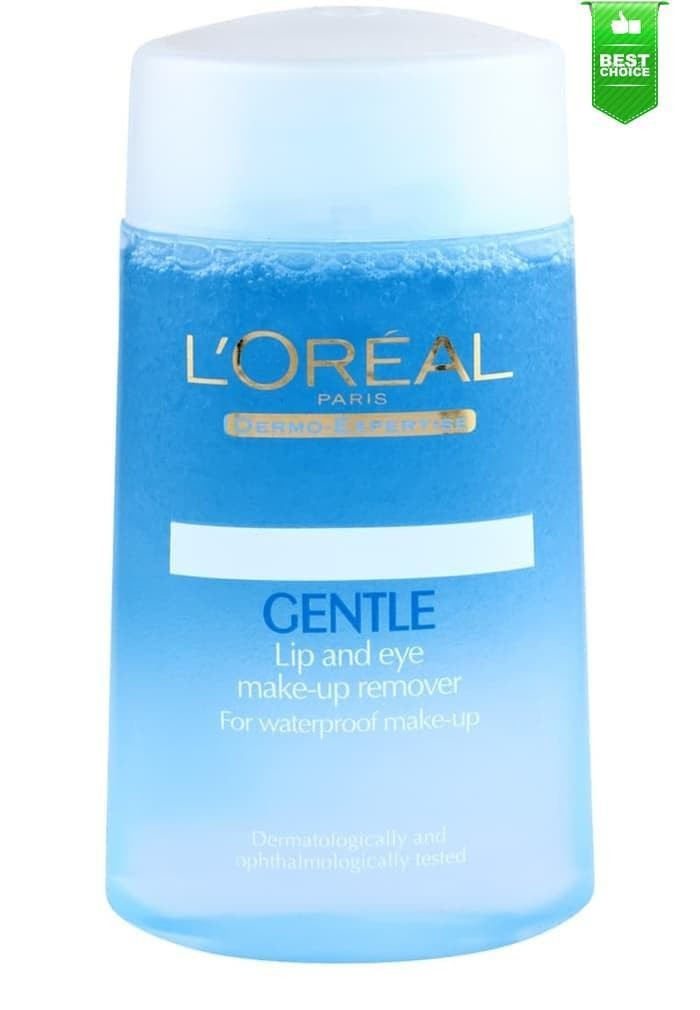 L'oreal Gentle Lip and Eye Make up Remover / Loreal Pembersih Makeup