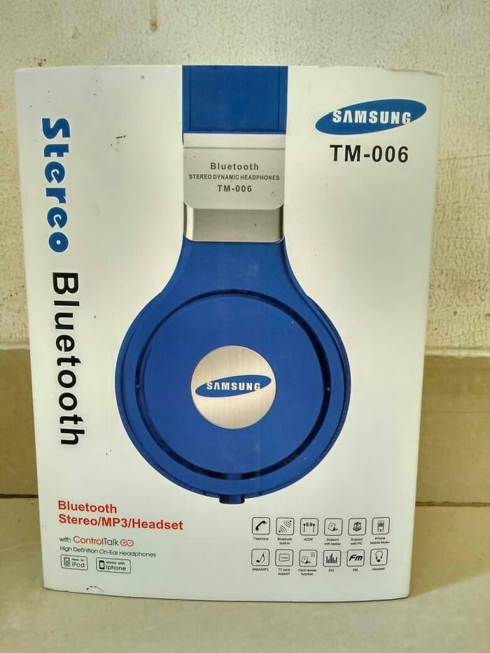 Jual Headphone Bluetooth Samsung Tm 006 Headset Wireless Super Ngebass Kab Sidoarjo Umj Olshop Tokopedia