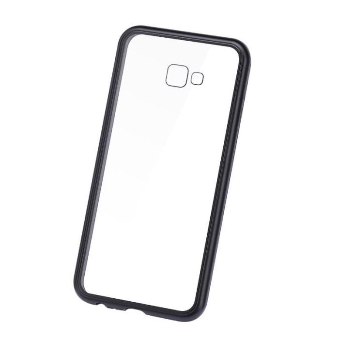 Foto Produk Samsung J4 PLUS Premium 2 in 1 magnetic phone case -Transparant dari importking