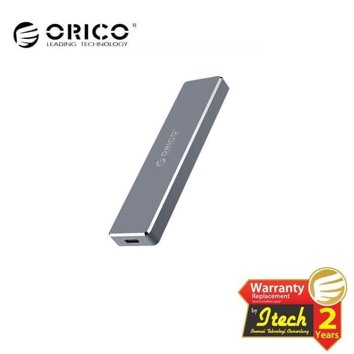 Jual ORICO M 2 NVME SSD Enclosure USB 3 1Gen2 Type-C Mini Clip-open PVM2-C3  - DKI Jakarta - Orico Center   Tokopedia