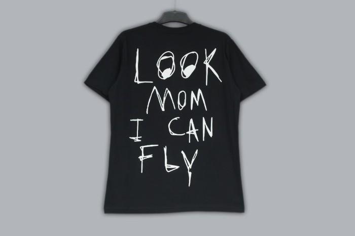 8937d6207aa7 Kaos / T-shirt Nike x Travis Scott Astroworld Tee Premium Quality - Hitam, M