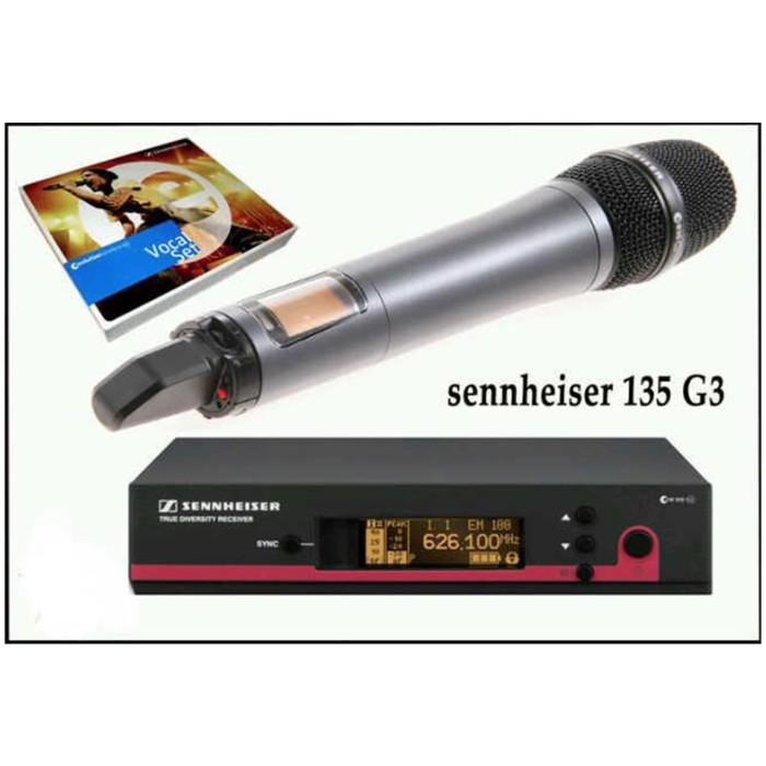 harga Mic wireless sennheiser ew 135 g3 ew135g3 Tokopedia.com