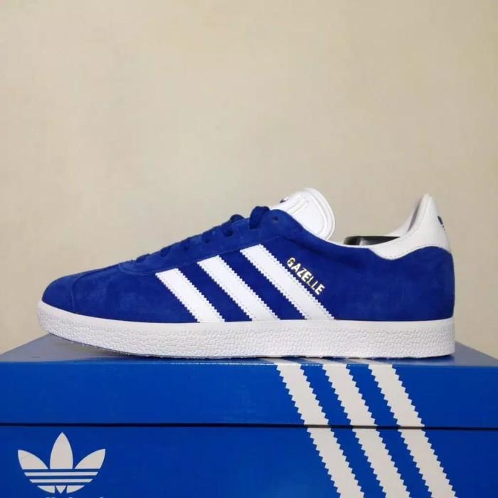 Jual New Sepatu Sneaker Casual Adidas Gazelle Royal Blue S76227 ... e20a19f2e