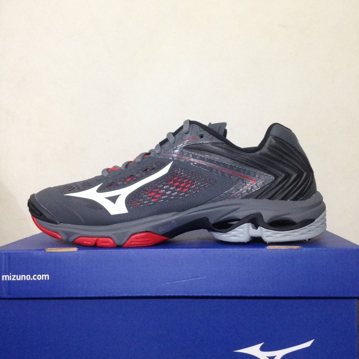 Sepatu Volley Mizuno Wave Lightning Z5 Dark Shadow White V1GA190003 3fe22ca219