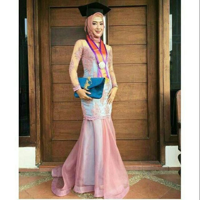 Jual Best Seller Kebaya Wisuda Kebaya Modern Gaun Brokat Gaun Dress
