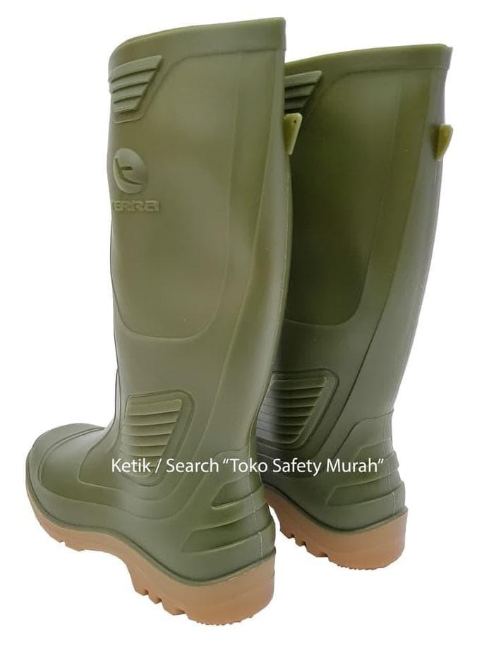 Jual Sepatu Boot Ap Terra Eco 3   Eco3 Hijau Karet Tinggi Panjang ... ae4030d26b