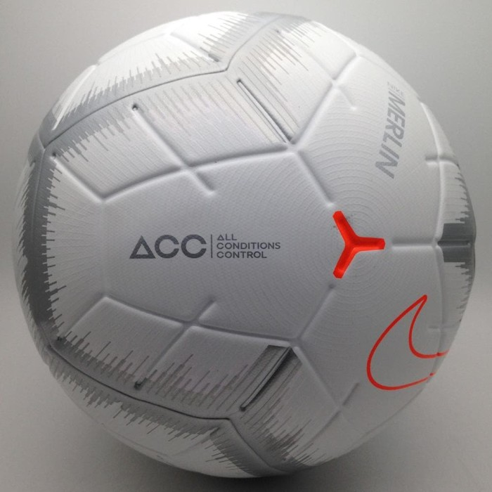 Sale Bola Soccer Nike Merlin Qs Match Ball White Sc3493-100 Original