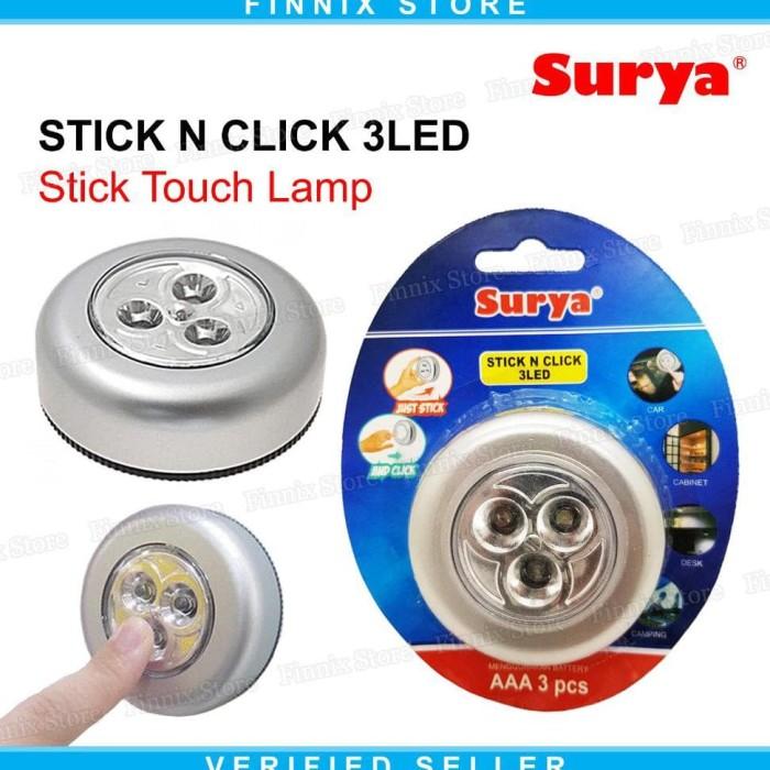... Sederhana Tempel Dan Tekan Silver Termurah . Source · Termurah Surya Stick N Click 3 Led Lampu Led Emergency Stick Touch