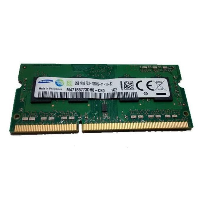 RAM (Memory) SODIMM Samsung DDR3 2GB PC3-12800 for Laptop/Notebook