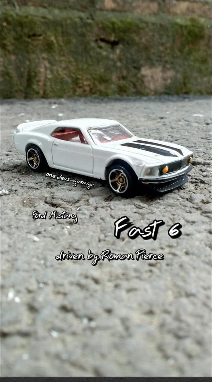 Hotwheels fast furious ford mustang loose