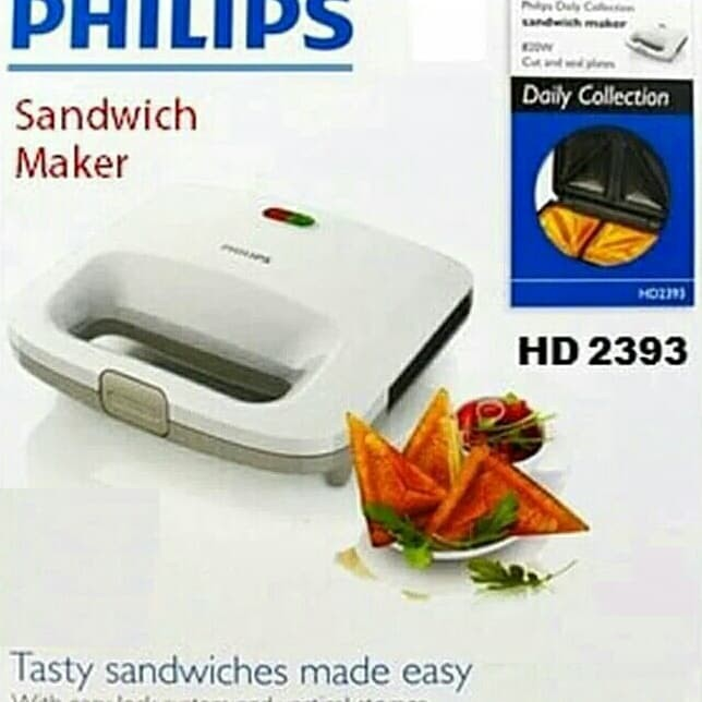 Pemanggang Roti / Philip HD2393 - Sandwich Maker / Toaster