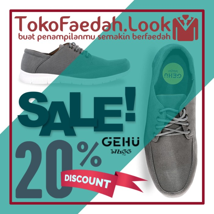 Jual Sepatu Sneakers Casual Pria Murah Berkualitas Warna Gray Brand ... 6d33a211a4