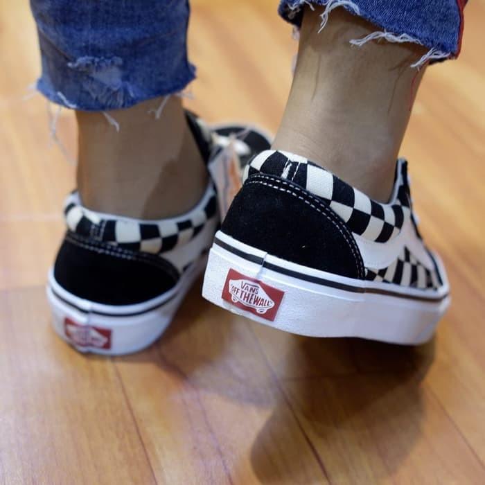 ffa571c91bb7 Jual Sepatu Vans Old Skool V36CL Checkerboard Japan Market Original ...