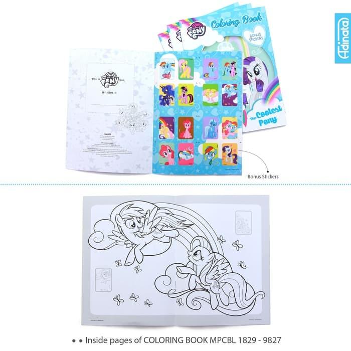 Jual Buku My Little Pony Coloring Book L Adinata Buku Mewarnai