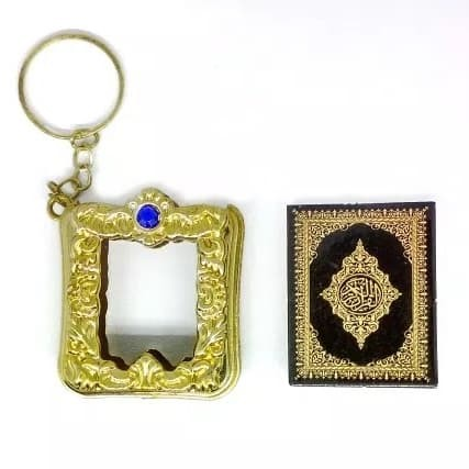 Gantungan Kunci Al Quran Kecil,Indah,Bagus,Bisa Jadi Souvenir,OlehOleh Di Sungai Raya,kalimantan Barat
