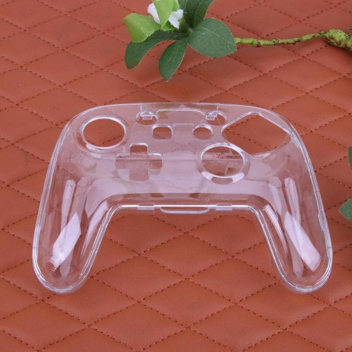 harga Nintendo switch pro controller hard case mika transparan casing Tokopedia.com