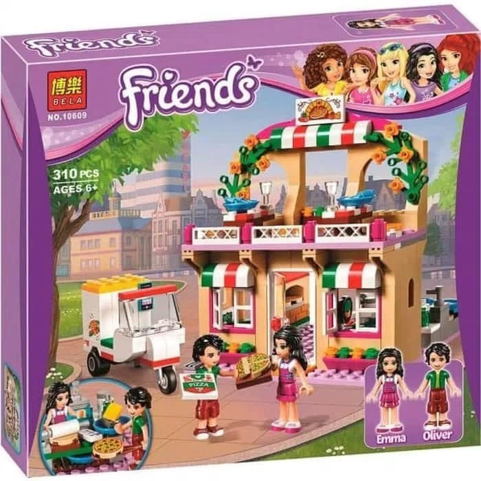 Jual Bela 10609 Bricks Lego Friends Heartlake Pizzeria Pizza