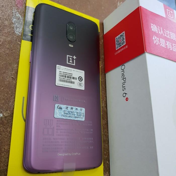 Jual ONEPLUS 6T RAM 8GB 128GB PURPLE - Kota Pekanbaru - MS Sisters    Tokopedia