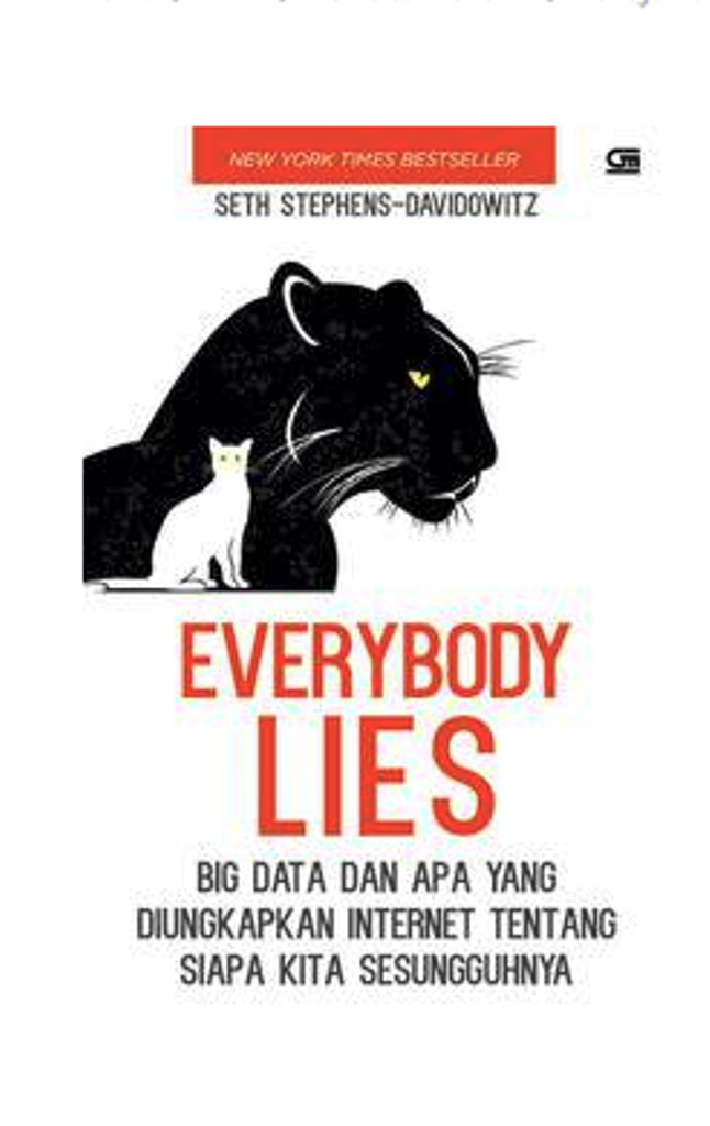 (BARU) BUKU Everybody Lies .Seth Stephens-Davidowitz