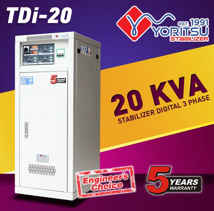 harga Voltage stabilizer listrik yoritsu digital 20 kva (3phase) Tokopedia.com