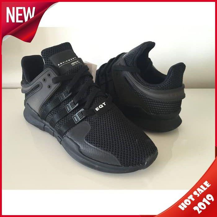 promo code 5b1df d4a7e Jual Adidas EQT Support ADV Triple Black High Premium Original - Raja_Shope  | Tokopedia