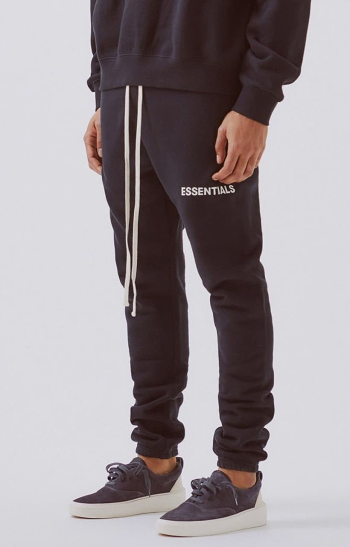 outlet store sale Buy Authentic 2019 clearance sale Jual Fear Of God Essentials Sweatpants Black - Hitam, M - DKI Jakarta -  True OG Kicks - OS | Tokopedia