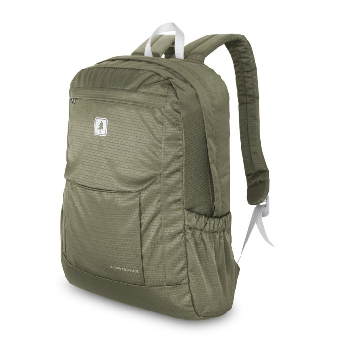 Consina work space ransel backpack - cokelat muda
