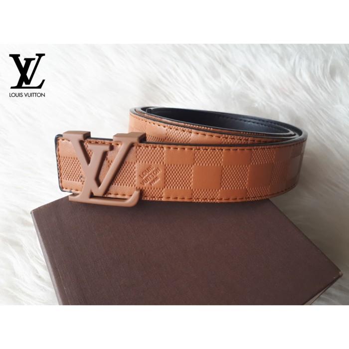 ... harga Sabuk gesper ikat pinggang kulit import branded cowok cowo pria  murah Tokopedia.com eb9ce5f0b8