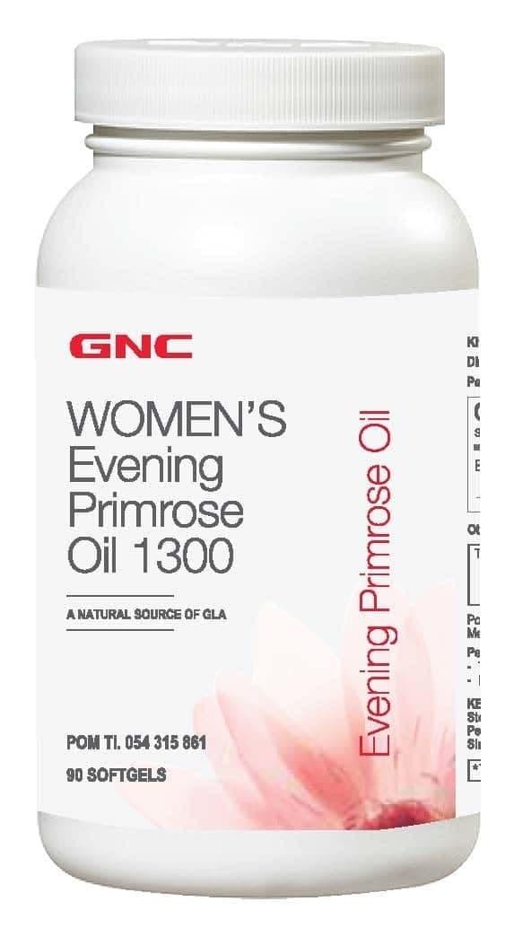 GNC WOMEN S EVENING PRIMROSE OIL 1300 90 KAPSUL