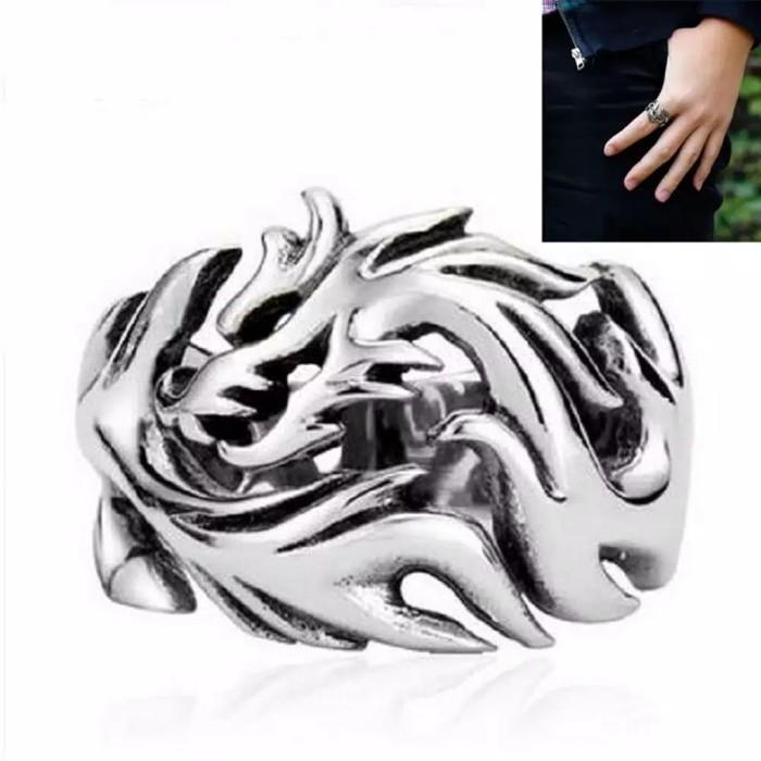 harga Cincin titanium model cakar naga bahan stainless Tokopedia.com