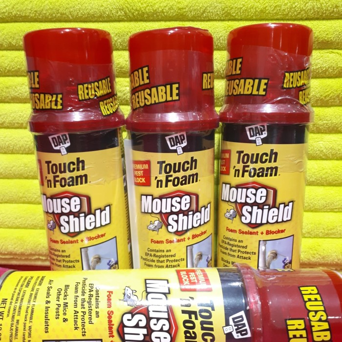 Jual Seal Foam Gap/penambal lubang/Sealant Mouse Shield Touch N Foam 340gr  - Kota Surabaya - Tamahome | Tokopedia