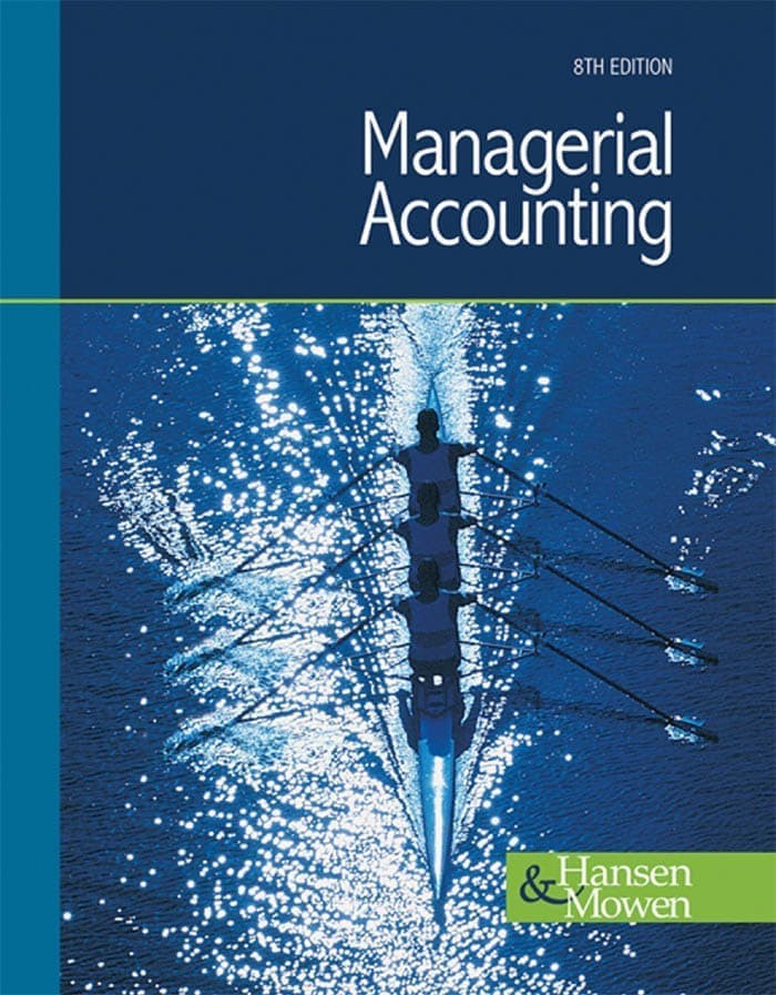 Ebook Managerial Accounting