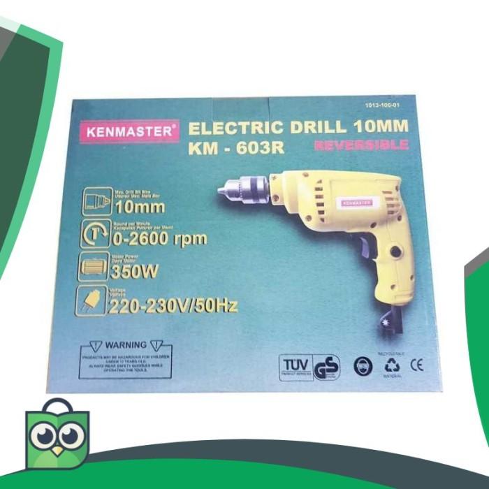[Promo] Mesin Bor Listrik Kenmaster KM-603R 10 mm Bolak Balik Elegan