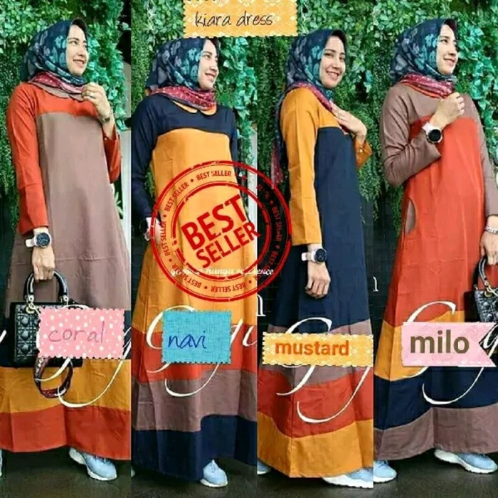 Jual Promo Kiara dress - Supplier baju murah   pusat baju murah ba ... f5d5fbada7
