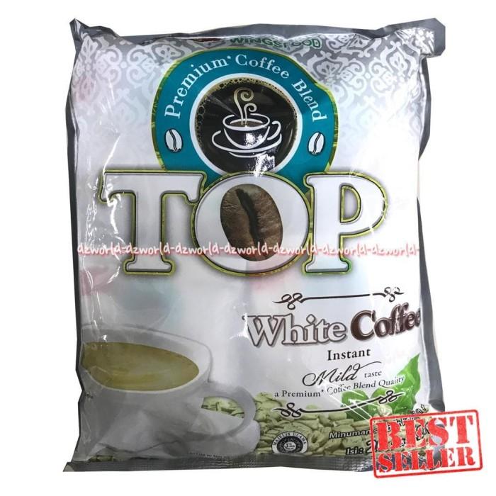 Top Coffee White Coffee Isi 20 Sachet Kopi Bubuk Instan Top Kopi