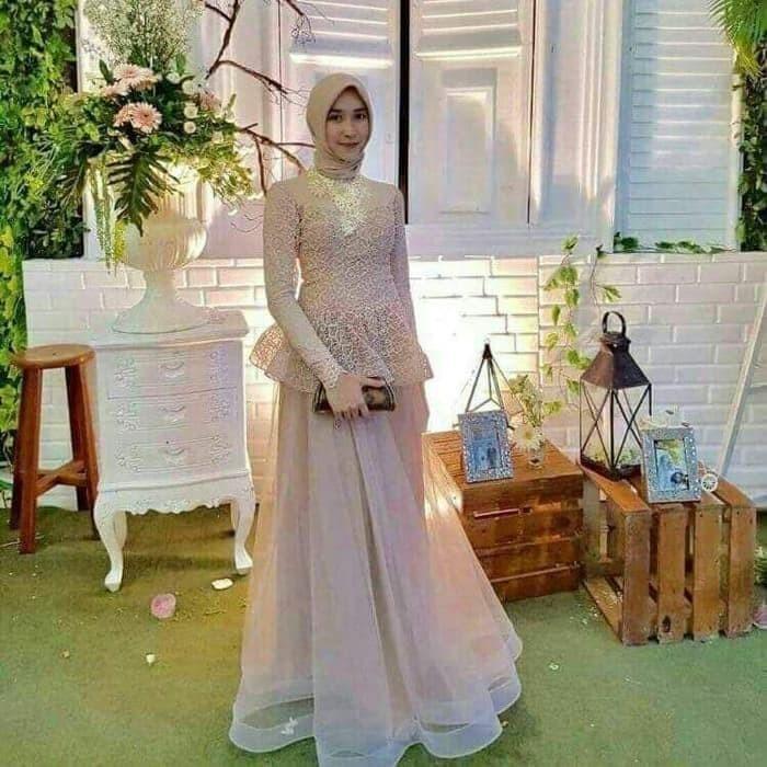 Jual Baju Busana Gaun Wanita Muslimah Gamis Kebaya Kondangan Acara