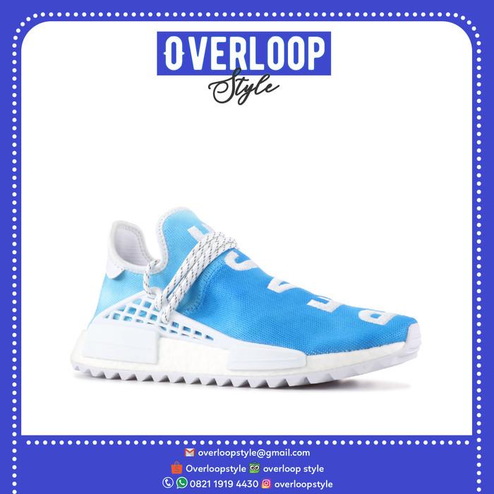 Sepatu Adidas - PHARRELL NMD HU CHINA PACK PEACE (BLUE) Original 5c623a9b4