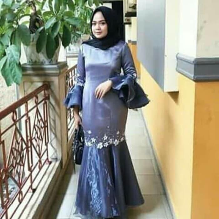 Jual Baju Kebaya Brukat Acara Resmi Gaun Pesta Muslimah Kondangan