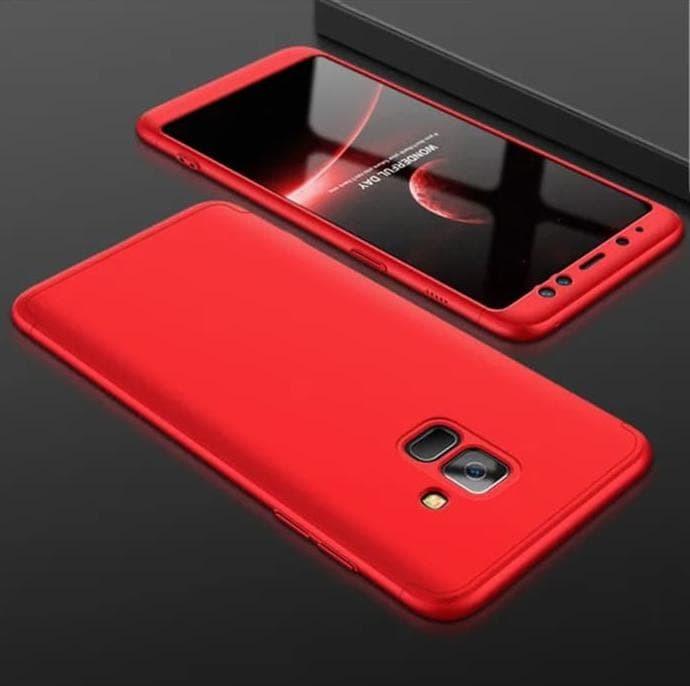 Promo Samsung Galaxy A6 Plus 2018 Hard Case 360 Gkk 3In1 Full Cover