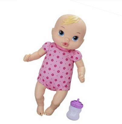 Jual MBA Mainan Boneka Baby Alive Luv n Snuggle Baby Doll Blonde ... 52409bab2d