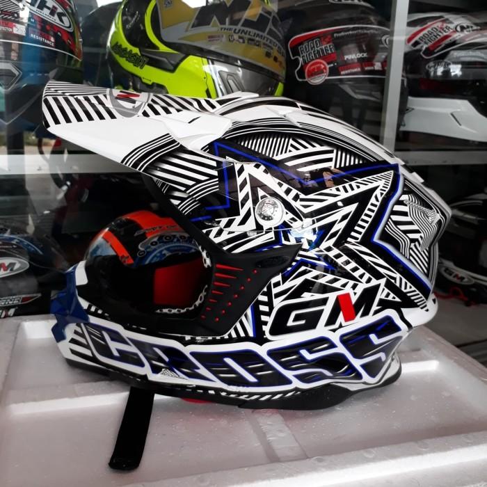 HELM GM SUPERCROSS SUPER MOTO -