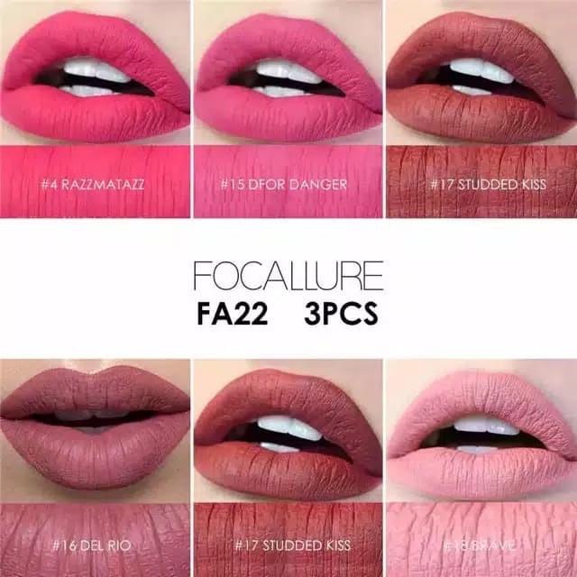 focallure lip matte
