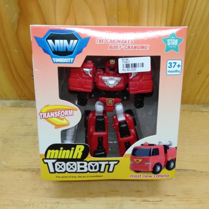 Foto Produk Mainan Tobot Murah (Robot menjadi Mobil Pemadam) dari Suplier Mainan