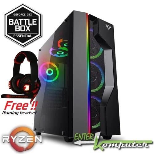 harga Enterkomputer nvidia geforce gtx battlebox essential pc (amd ryzen) Tokopedia.com