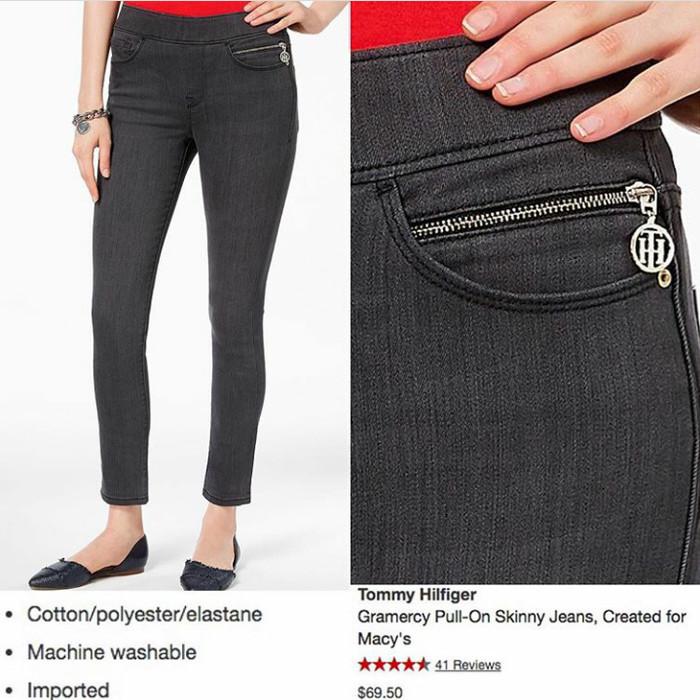 d83e14d49 Jual Celana Jeans Tommy Hilfiger Gramercy Pull-On Skinny - Kab ...